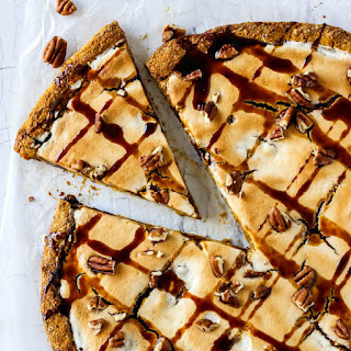 Pumpkin Pie Dessert Pizza