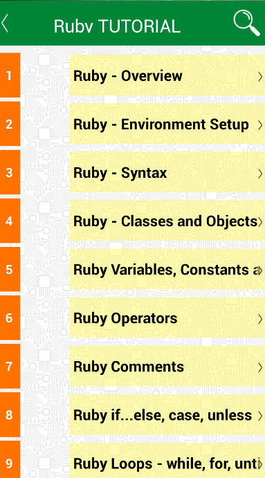 Learning Ruby programming- screenshot