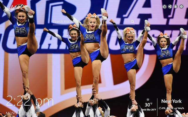 Cheerleading HD Wallpapers New Tab Theme