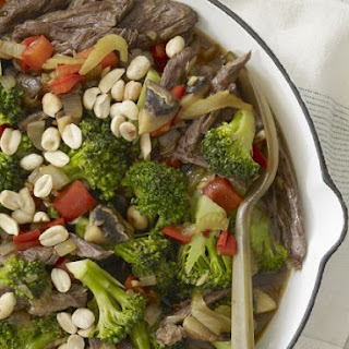 Steak and Nut Skillet