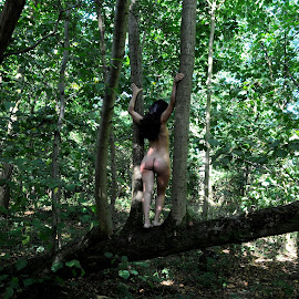 Dryad's Overlook by DJ Cockburn - Nudes & Boudoir Artistic Nude ( woman, model )