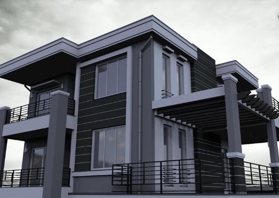 Exterior Architecture House- screenshot