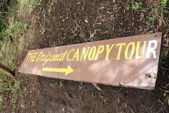 Photo: Auf zum Canopy, dass schon Jimmy Carter besuchte!