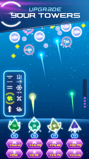 Non-Stop Space Defense - Infinite Aliens Shooter 1.1.0g app download 3