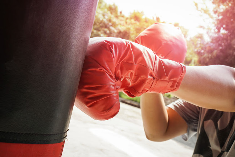 Boxing is a great way to get fit - and relieve frustration - so invest in a punching bag for your home.