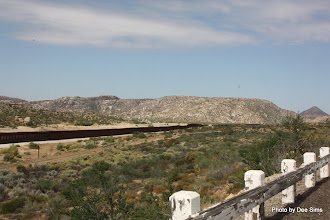 Photo: (Year 3) Day 35 -  The Fence on the US and Mexican Border #1
