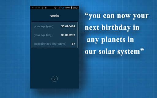 Hitung usia Anda di planet lain 1.3 screenshots 10