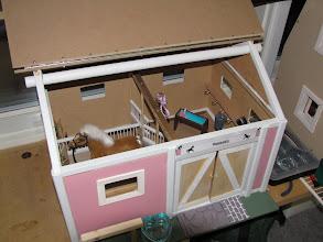 Photo: Talo n:o 17, Vanessan talli valmiina jouluksi 2008