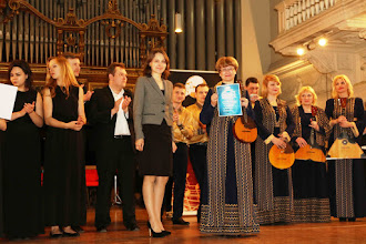 Photo: Belorussian Embassy  hands Honorable Diploma to Contrast-2