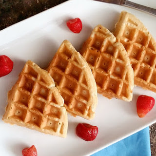 Light and Fluffy Waffles.