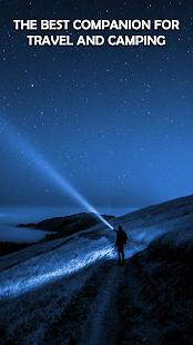 LED Torch Free - Flashlight & Compass App
