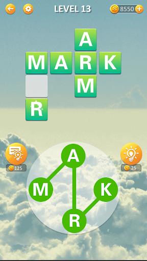 Words Sky - Brain Train Casual Game for Free screenshots 1