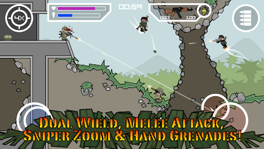 Mini Militia – Doodle Army 2 MOD Apk (Pro Pack) 3