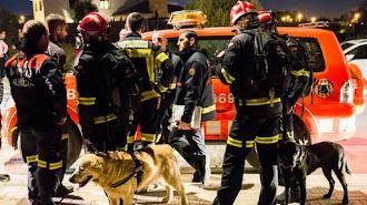 Imagen del operativo de búsqueda puesto en marcha. Francisco Martínez (Europa Press)