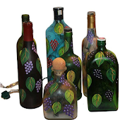 Glass Bottle Arts and Crafts