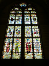 Photo: Stained glass in the Rijksmuseum
