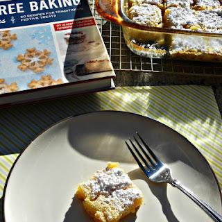 Lemon Bars  (from Gluten-Free Baking for the Holidays)