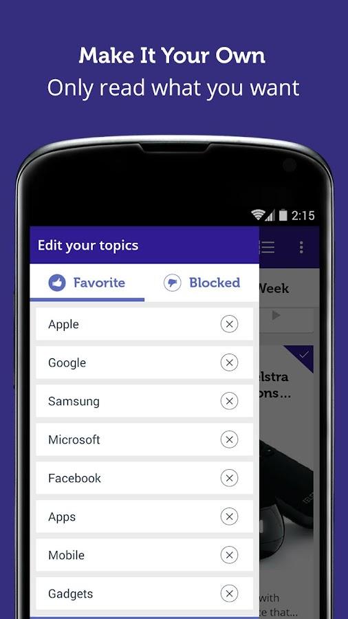 Australian Tech - Newsfusion- screenshot