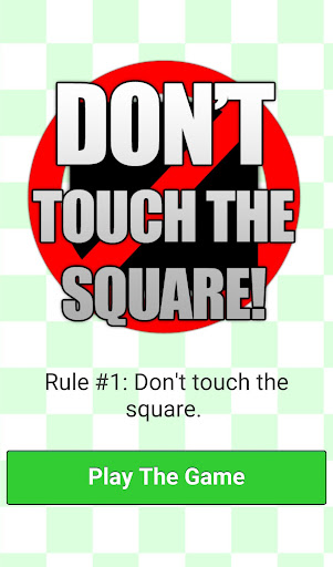 Don't Touch The Square - Hard