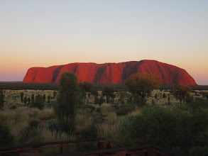 Photo: Year 2 Day 219 - Uluru at 6.45am