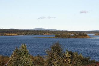 Photo: Kuolajärven Alajärvi ja Isosaari sekä Pikkusaari