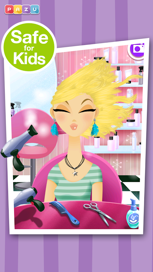 Girls Hair Salon- screenshot