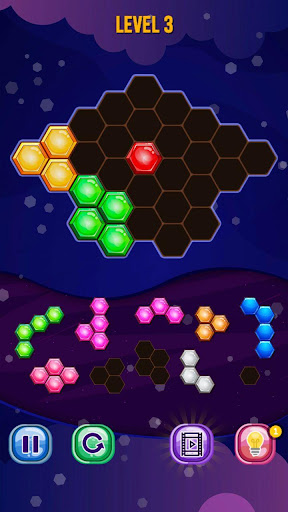 Hexa Puzzle Block! Legends  screenshots 1