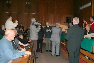 Photo: Na zebraniu sprawozdawczo-wyborczym Dolnośląskiego Oddziału Terenowego PZK w klubie Śląskiego Okręgu Wojskowego w dn. 27 stycznia 2008 r.