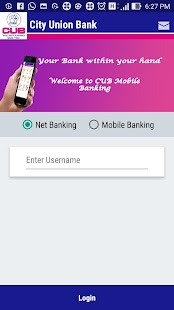 CUB MOBILE BANKING PLUS - náhled