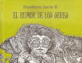 Photo: Carátula del libro El rumor de los seres. Humberto Jarrín B.