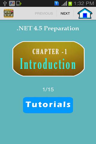.NET 4.5 Tutorial