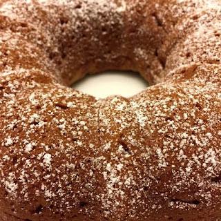 Easy Applesauce Bundt Cake.