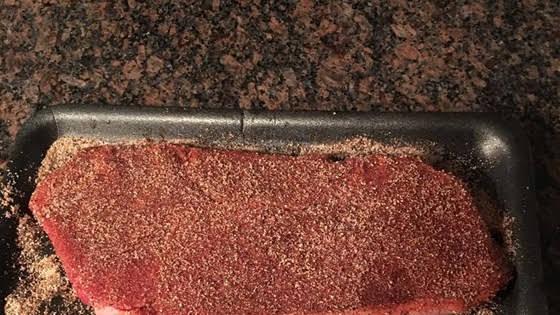 Dry Rub Seasoned Flank Steak Recipe   Yummly