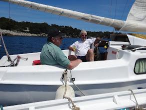 Photo: pique-nique avec Gilles au cap d'Antibes