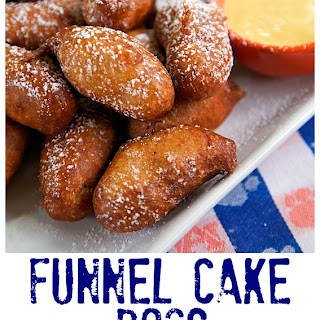 Funnel Cake Dogs.