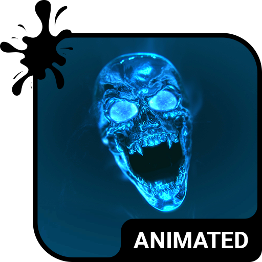 Flame Skull Animated Keyboard + Live Wallpaper file APK for Gaming PC/PS3/PS4 Smart TV