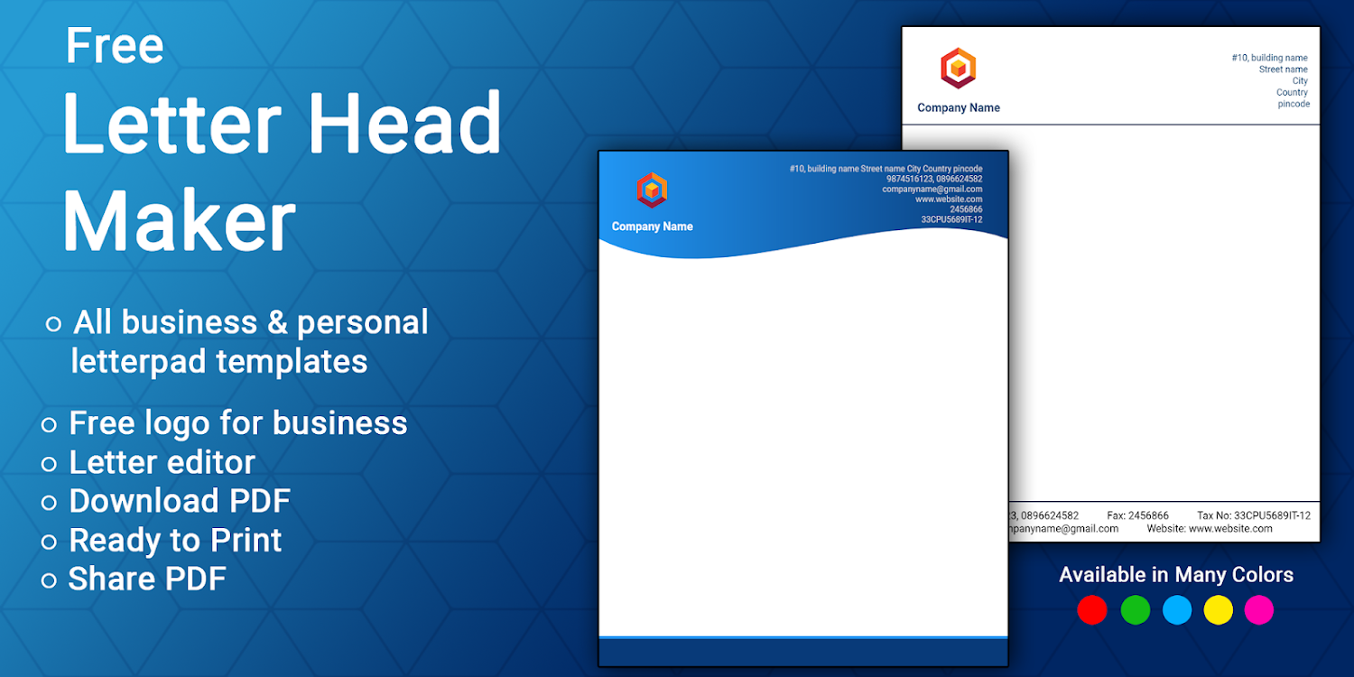Business Letter Template With Logo from lh3.googleusercontent.com