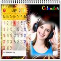 Calendar 2018 photo frame wallpaper icon