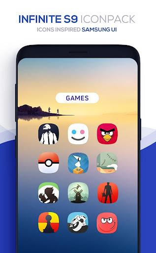 Infinite S9 Icon Pack  screenshots 4