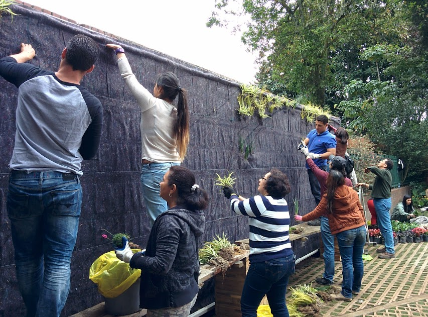Cursos de jardines verticales y cubiertas vegetales for Jardines verticales quito ecuador