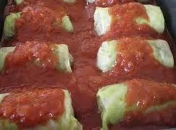 Cabbage Rolls (Crockpot)