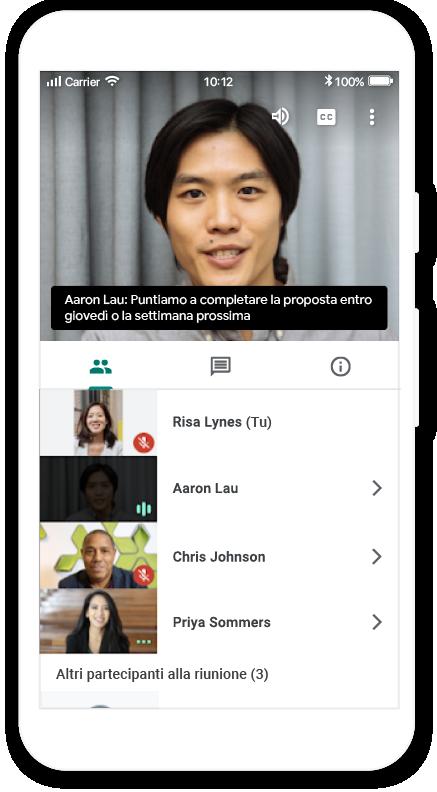 Videoconferenze protette e di livello aziendale