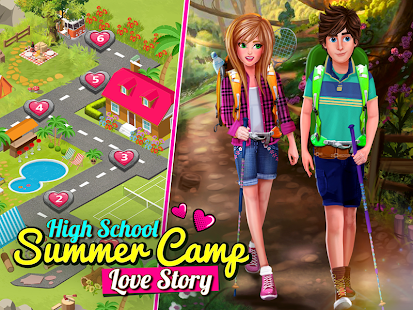 High School Story: Summer Camp Love - Teen Date- screenshot thumbnail