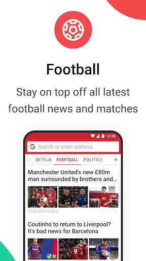 Opera Mini browser beta screenshot 4