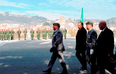 CTOE realizou cerimónia militar de encerramento de cursos
