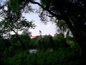 Photo: Domberg from the Isar river