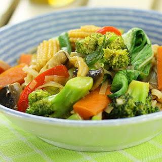 Chinese Vegetable Stir Fry.