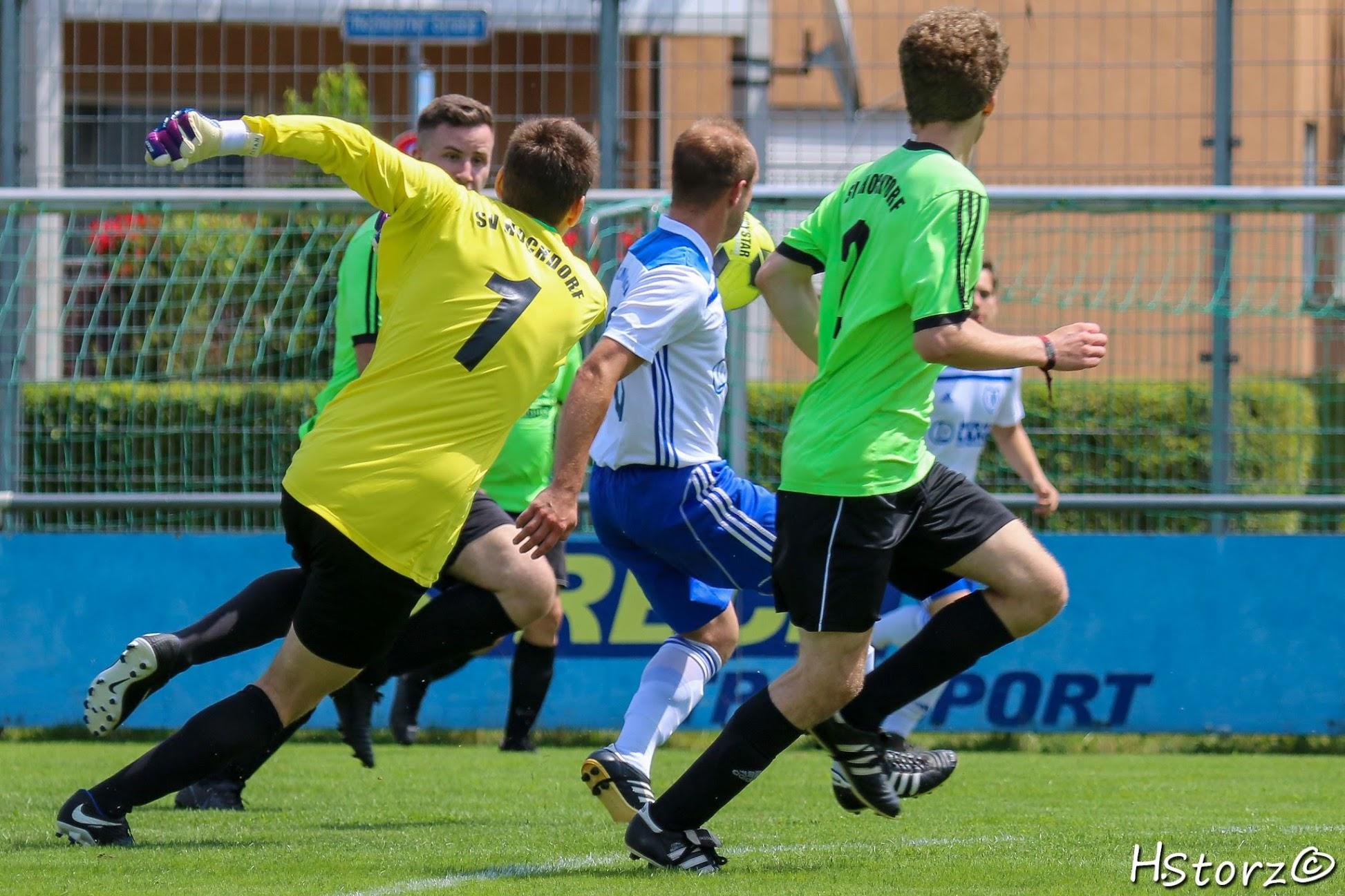 SV Hochdorf II – TVK II   4:4  (1:1)