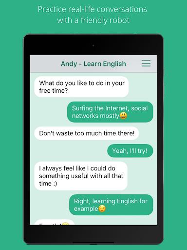 Andy - English Speaking Bot screenshot 4
