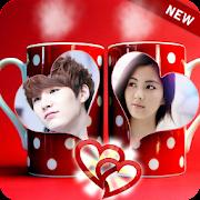 Mug Dual Photo Frame New: Tea & Coffee Cups Photos